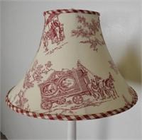 White Table Floor Lamp