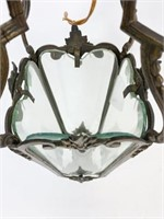 Brass & Glass Hanging Fixture