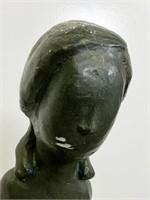 Plaster Sculpture of a Woman