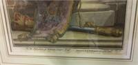 Pair of Colored Engravings