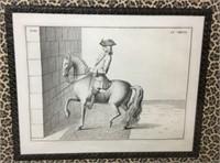 4 Cavalry Engravings