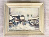 Street Scene Oil Paintings