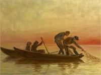 Signed Sylvia Sandberg Oil Painting