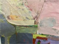 Abstract Oil Signed Walsh