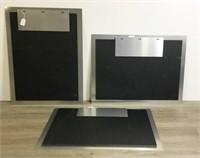 3 Metal Posters