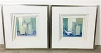 Pair of Regine Pivier-Attolini Prints