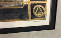 2 Piece Decorative Art Lot