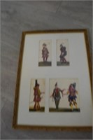Set of 4 Early 20th Century Renaissance Costume
