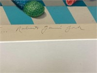 Signed Roberto Garcia York Lithograph