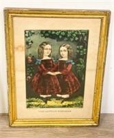 Pair of Currier & Ives Prints