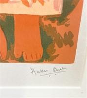 Signed Haku Shah Print