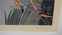 Thomas McKnight Lithograph