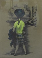 Lawrence Beall Smith Lithograph