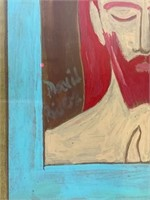 Portrait & Jean Lauthe Lithograph