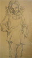 Pencil Drawing of a Figure