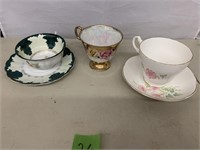 Misc. Lot of tea cups and saucers