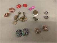 8 pair earrings