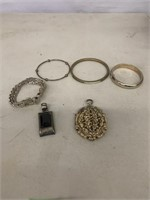 Braclets and pendants