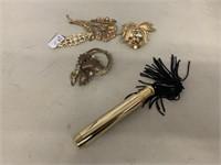 Pins and perfume