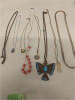 8 necklaces
