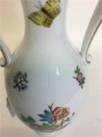 Herend Gravy & Queen Victoria 2 Handled Vase