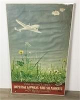 Imperial Airways-British Airways Poster