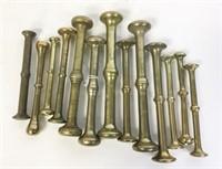 13 Brass and Bronze Pestles