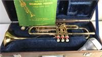 Vintage Holton Collegiate Brass Trumpet in Carey