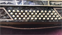 Antique La Tosca Accordian Made  in Italy  with