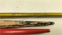 """Collection of Antique Fountain Pens Longest is 8"""""""