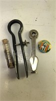 Antique Atmos Smoking Pipe Tools and more