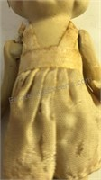 """Antique Porcelain Doll 5"""" Tall"""