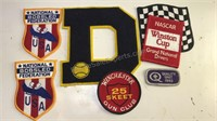 Collection of Patches NASCAR Bobsled and more