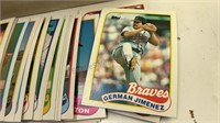 """Full Box of 1989 Topps Baseball Cards box is 14"""""""