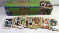Box of 1987 Topps Baseball Cards Box is Topps