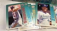 Box set of 1992 Fleer Baseball Cards unknown if