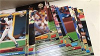 Box of mixed Sports Cards Baseball and Basketball