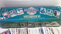 1990 Upper Deck Baseball Cards box set includes