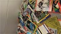 Box of mixed Sports Cards Baseball and Football