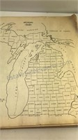 1954 Michigan Department of Conservation County