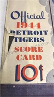 2 1944 Detroit Tigers Briggs Stadium 19 Cent