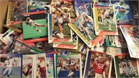 Mixed box of Football Cards and Desert Storm