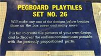 Vintage Halsam Play Tiles Set in original box