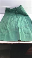 Vintage Girl Scout Uniform Blouse and Skirt with