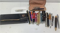 24 different writing tools some collectors items