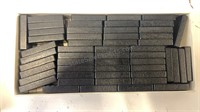 Wooden Domino Double Nine made by Estrela