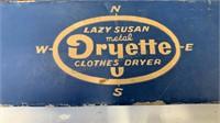Lazy Susan metal Dryette clothes dryer