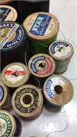Coats & Clark's & other Vintage Spools of Thread