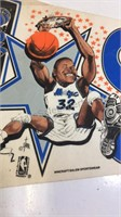 """Shaquille O'Neal Orlando Magic Pennant 30"""" with"""