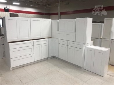 12 Piece White Shaker Kitchen Cabinet Set Other Items For Sale 1